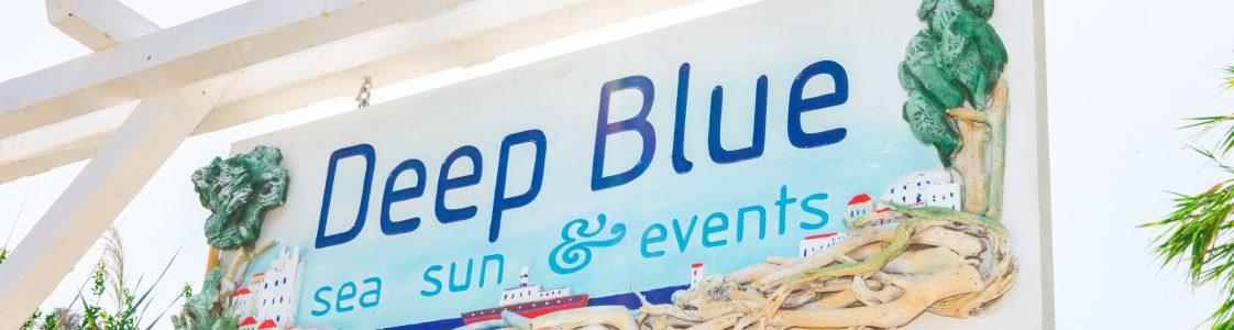 """Deep Blue"" Wedding Venue"